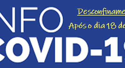 COVID-19 : Desconfinamento – O que muda e reabre no país a partir do dia 18 de maio