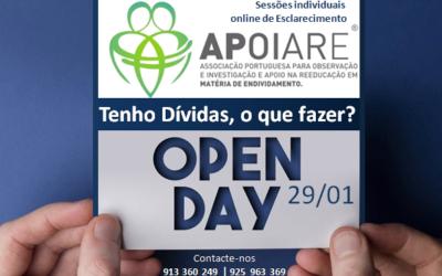OPEN DAY – Sessões online de Esclarecimento individual e gratuito
